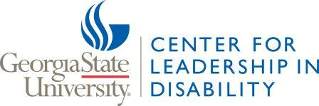 GSU logo, Center for Leadership in Disability