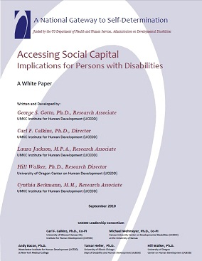 Cover Image of Accessing Social Capital Implications for Persons with Disabilities