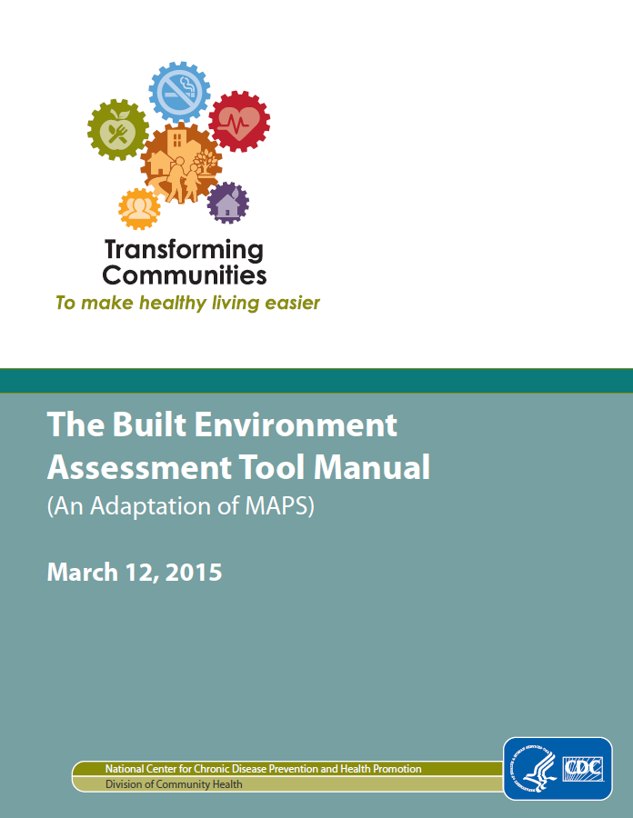 CDC The Built Environment Tool