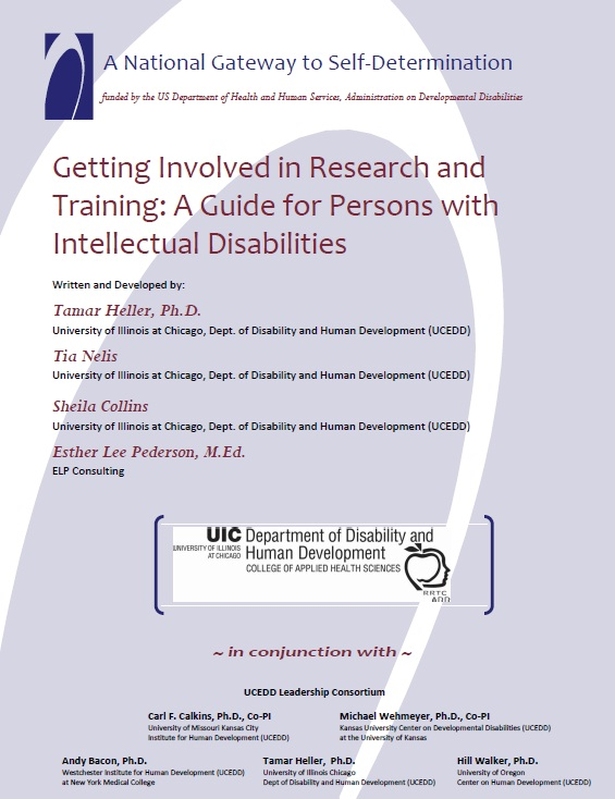 Cover of Getting Involved in Research
