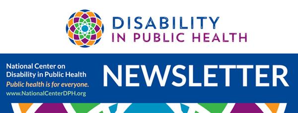 Logo for Inclusive Public Health Quarterly Newsletter
