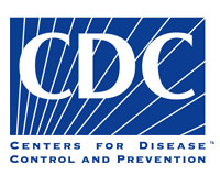 CDC logo blue backgroung and CDC in capital letters