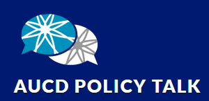 logo of AUCD Policy Talk
