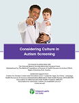 Considering Culture in Autism Screening Kit & Curriculum Now Available Online