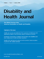 Disability and Health Journal