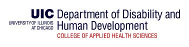 New Bachelor of Science Degree in Disability and Human Development at IL UCEDD