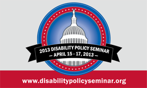 Disability Policy Seminar Orientation For Students, Trainees, and Early Career Professionals