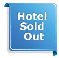 special note: hotel sold out