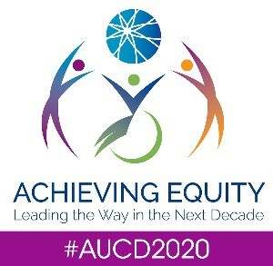 AUCD 2020 Conference Achieving Equity logo