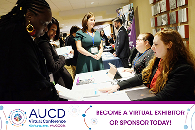 AUCD021 Virtual Sponsor and Exhibitor Opportunities