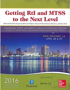 Continuing the National Conversations on MTSS/RtI (LA UCEDD)