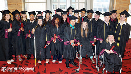 The Center on Disability and Development at Texas A&M University Announces the 2016 PATHS Graduates (TX UCEDD)
