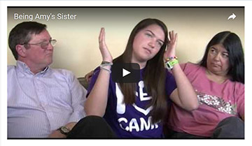 New Video: Being Amy's Sister - On Having a Sibling with a Disability (CO UCEDD/LEND)