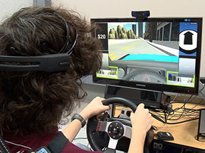 Vanderbilt Kennedy Center (TN UCEDD, LEND, IDDRC) Investigators Using Virtual Reality to Help Teenagers with Autism Learn How to Drive