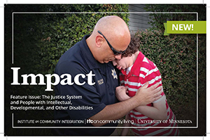 Justice System and People with Disabilities Focus of New MN UCEDD Publication