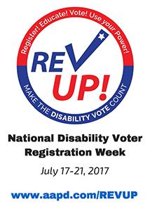 Announcing National Disability Voter Registration Week 2017