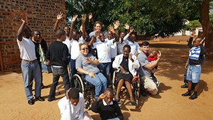 Easter Seals Iowa Assistive Technology Center (AT) visited South Africa (IA UCEDD)