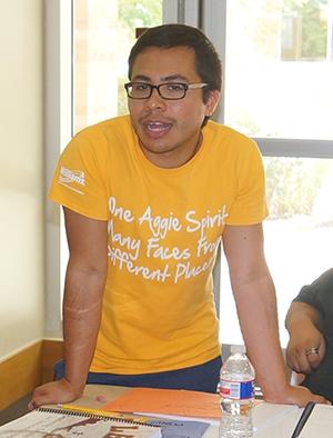 Student Highlight, Adonay Mendoza (TX UCEDD)