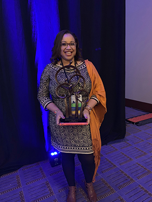 CIDD LEND Faculty, Djenne-amal Morris was honored with the 2019 EHDI Family Leadership Award.