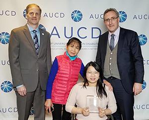 Kansas LEND Post Doctoral Fellow Wins Anne Ruidiger Award