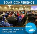 SOAR Conference plenary session - Self advocates from four states (Missouri, Iowa, Nebraska, and Kansas) welcome participants to the first time regional conference.