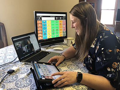 Staying Connected During COVID-19: Waisman Center Outreach Supports AAC Remotely