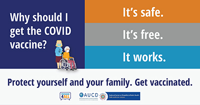 New COVID-19 Vaccine Confidence Tools and Videos for People with Disabilities