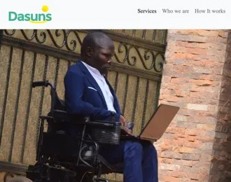 PFP-IDE Alumni Ronald Kasule & Hassan Waddimba Launch Uganda's First Disability Accommodations Website
