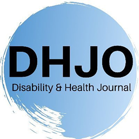 Disability and Health Journal: The importance of seasonal influenza vaccination for people with disabilities during the COVID-19 pandemic