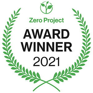 Zero Project Award Winner 2021
