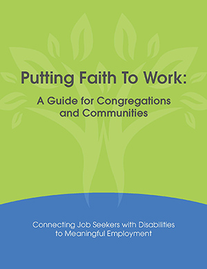 Putting Faith to Work Highlighted on Disability Podcast