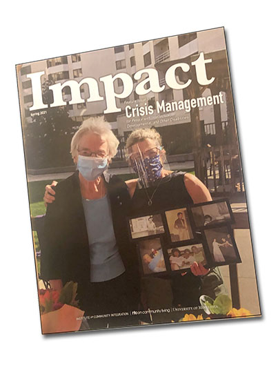 IMPACT: A Special Issue on Crisis Management for People with Intellectual and Developmental Disabilities
