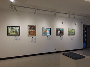 """Crafting My Story…"" exhibit at the Arizona Western College, Yuma Art Gallery"