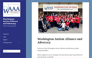 Introducing the Washington Autism Alliance & Advocacy Family Navigation Online Training Module