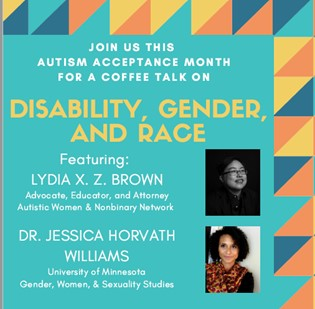 Coffee Talk # 2: Disability, Gender, and Race