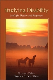 Studying Disability: Multiple Theories and Responses (book cover)