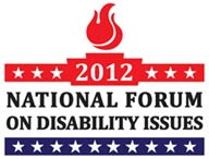AUCD is a proud sponsor of the 2012 National Forum on Disability Issues