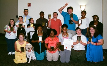 TRIAD (MS UCEDD) Holds Its First Annual Service Celebration AmeriCorps Members