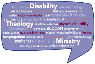 2013 Summer Institute on Theology and Disability
