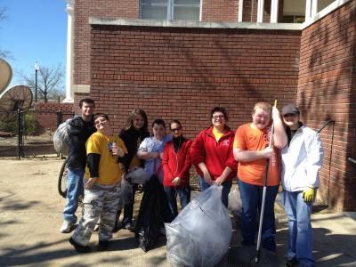 AmeriCorps Youth Leaders (MS UCEDD) Recognized for Tornado Clean-Up Efforts