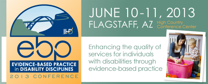 Evidence-based Practice in Disability Disciplines Conference