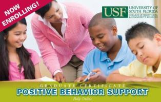 Online Graduate Certificate Program: Positive Behavior Support (FL UCEDD