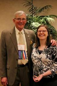 Katie Arnold, IL UCEDD, Receives Leadership Award