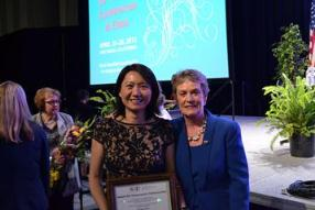 Indiana LEND's Dr. Kuo Earns Award from AOTF