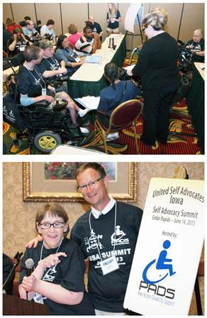 Iowa DD Network Partners and Local Grassroots Organization Hosted a Successful Self-Advocacy Event