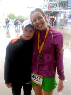 26.2 miles in the Rain for the Vanderbilt Kennedy Center (TN UCEDD) Reading Clinic Organization: Vanderbilt Kennedy Center
