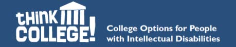 Think College (A Project of the MA ICI UCEDD/LEND) Has A Whole New Look!