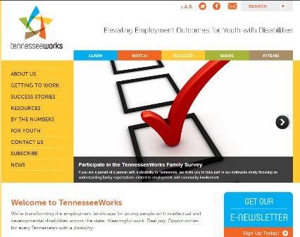 Vanderbilt Kennedy Center (TN UCEDD) Unveils a New Employment Website for TennesseeWorks