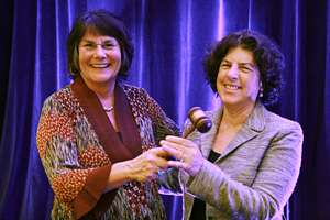 Leslie Cohen, JD, Inducted as President of AUCD