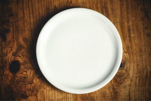 Image of a white plate